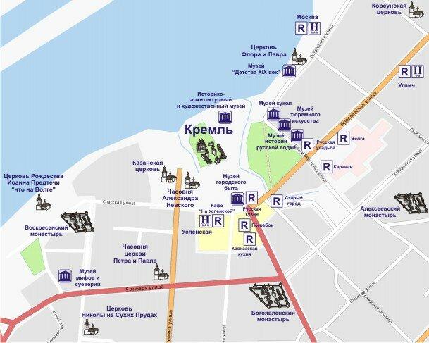 Интерактивная карта центра